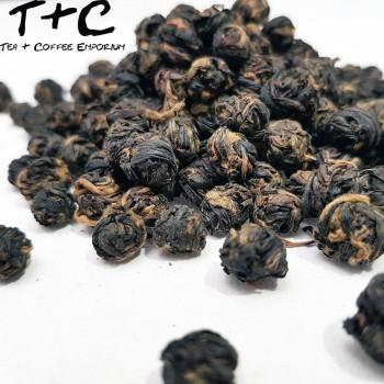 Black Dragon Pearl - Dian Hong Tea