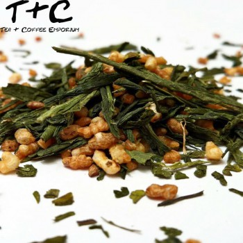 Genmaicha (玄米茶, Brown Rice Tea) Premium Sencha Genmaicha