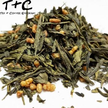 Genmaicha Organic (玄米茶, Brown Rice Tea)
